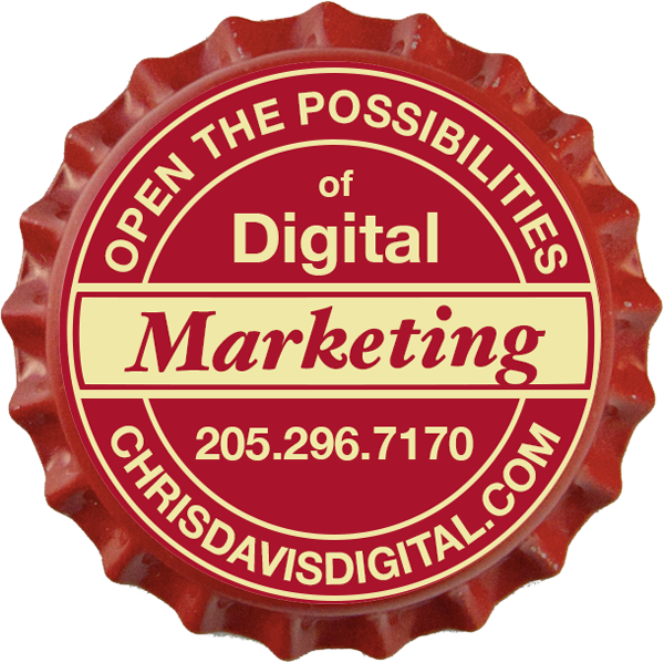 Chris Davis Digital marketing logo