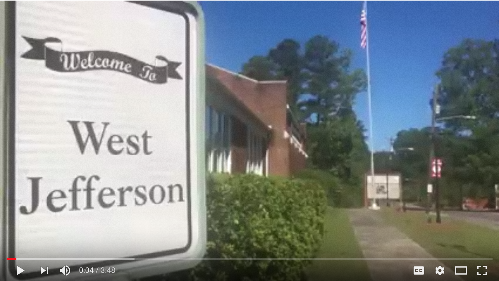 Video production image for Town of West Jefferson