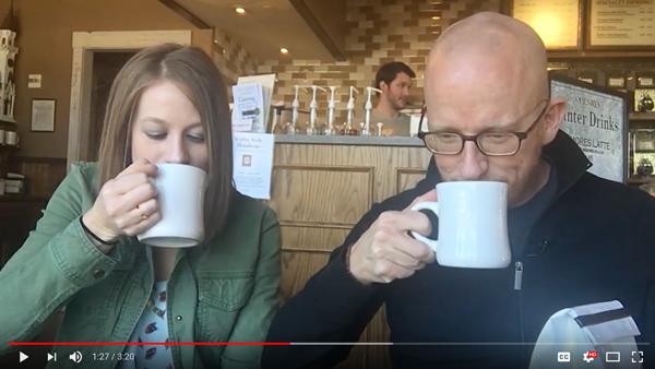 OHenry's Coffee Kids Tasting