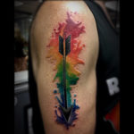 brittany-tuggle-classic-13-tattoo-cover-watercolor-arrow