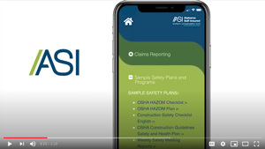 ASI Mobile App Walkthrough